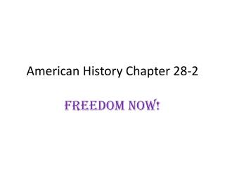 American History Chapter 28-2