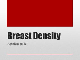 Breast Density