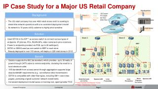 IP Case Study for a Major US Retail Company