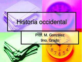 Historia occidental