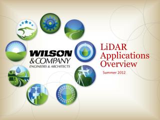 LiDAR  ApplicationsOverview