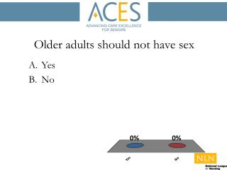 Older adults should not have sex