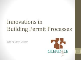 Innovations in Building Permit Processes