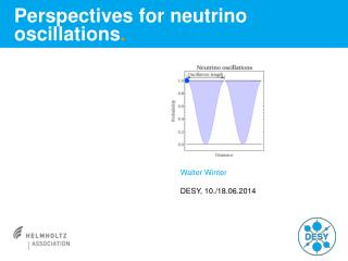 Perspectives for neutrino oscillations .