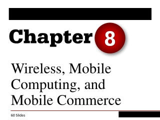 Wireless, Mobile Computing and Mobile Commerce