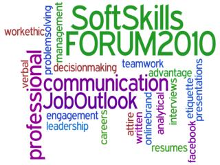 Why Soft Skills Matter: 2010 Job Outlook