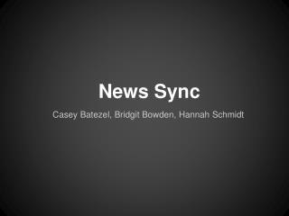 News Sync