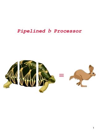 Pipelined b Processor