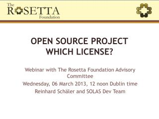 Open source project Which license?