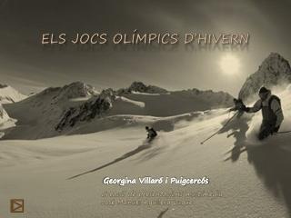 Els Jocs Olímpics d'hivern