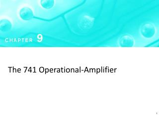 The 741 Operational-Amplifier