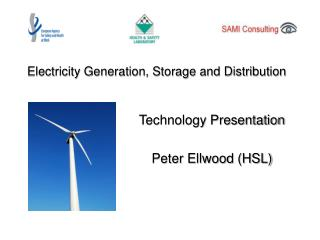 Electricity Generation, Storage and Distribution