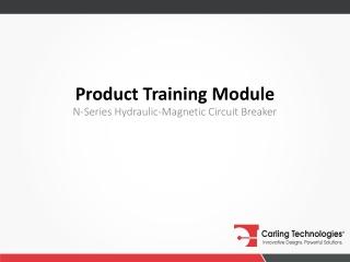 Product Training Module