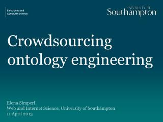 Crowdsourcing  ontology engineering