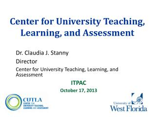 Center for University Teaching, Learning, and Assessment