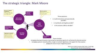 The strategic triangle: Mark Moore