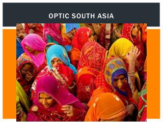 OPTIC South Asia