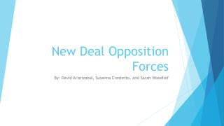 New Deal Opposition Forces