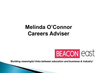 Melinda O'Connor Careers Adviser