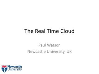 The Real Time Cloud