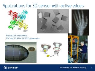 Applications for 3D sensor with active edges