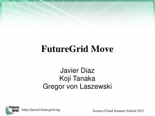 FutureGrid Move