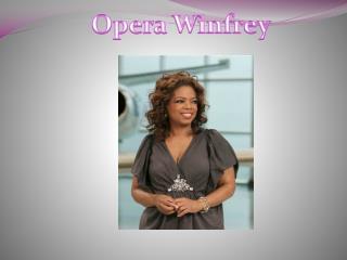 Opera W infrey