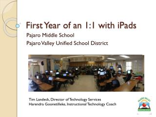 First Year of an 1:1 with iPads