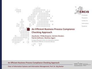 An Efficient Business Process  Compiance  Checking Approach