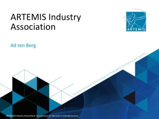 ARTEMIS Industry Association