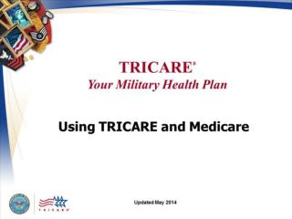 TRICARE Your Military  Health Plan: Using TRICARE and Medicare