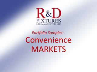 Convenience MARKETS