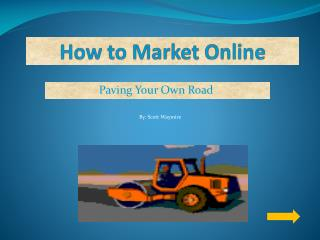 How to Market Online