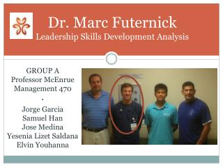 Dr. Marc Futernick Leadership Skills Development Analysis