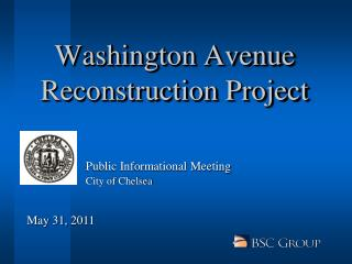Washington Avenue Reconstruction Project
