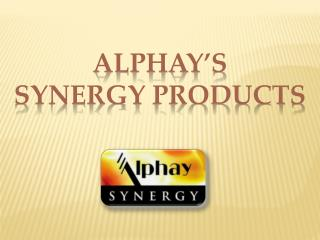 Alphay's  Synergy  Products