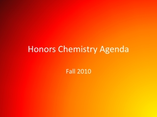 Nuclear Energy Notes Honors
