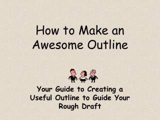 How to Make an Awesome Outline