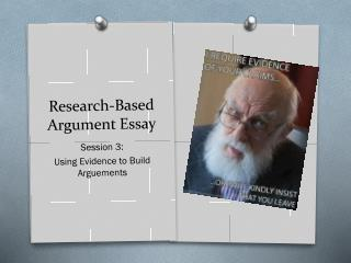 Research-Based Argument Essay
