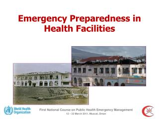 Emergency Preparedness in Health Facilities