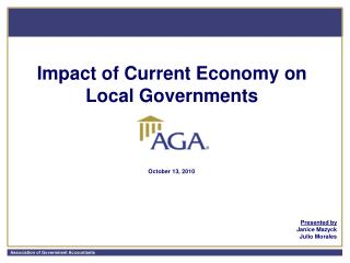 Impact of Current Economy on Local Governments