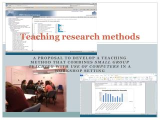 Teaching research  methods