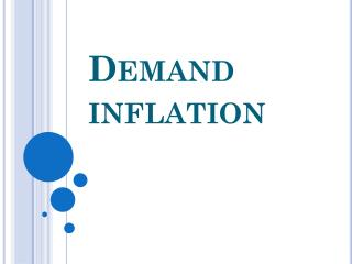 Demand inflation