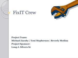 FixIT Crew