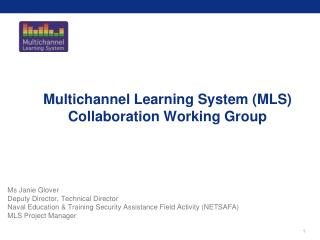 Multichannel Learning System (MLS) Collaboration Working Group