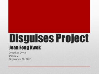 jean fong kwok s disguises a review As from 1 february 2006, mr jocelyn kwok yin siong yen was appointed general secretary of  during the year under review, the chamber continued to fulfil its role of safeguarding institution and  general secretary: jean li yuen fong (up to january 2006) jocelyn kwok yin siong yen (as from february 2006.