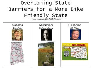 Overcoming State Barriers for a More Bike Friendly State