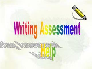 Writing Assessment Help
