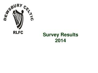Survey Results 2014