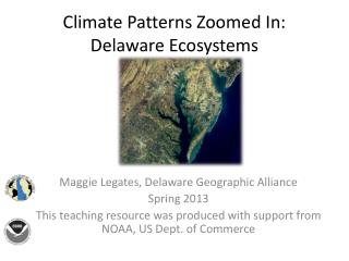 Climate Patterns Zoomed In: Delaware Ecosystems